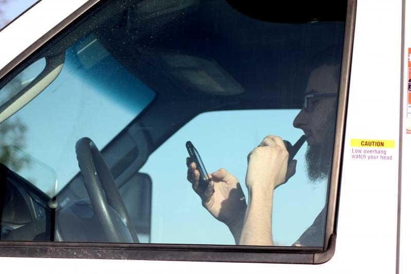 The Austin City Council banned use of hands-free devices yesterday. The ban starts in January of 2015.