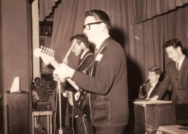 Roy Orbison plays a show in Clearwater Florida in December of 1961.