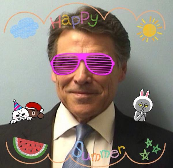 "Texas Tribune editor Evan Smith says Rick Perry's indictment  – which launched many memes – will be settled in court. ""These rallies and public relations efforts and expensive lawyers and ice cream cones … it does not make a bit of difference."""