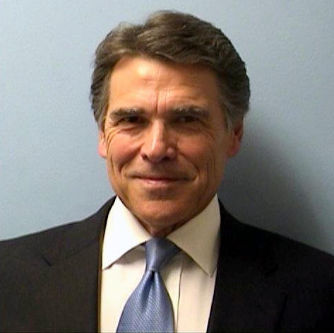 Gov. Rick Perry's booking photo on August 19, 2014.