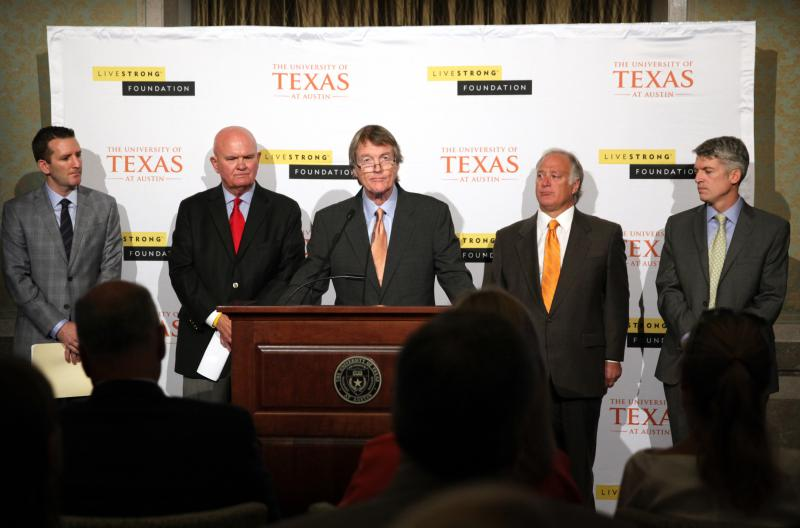 President Bill Powers says public-private partnerships such as the Livestrong Cancer Institutes are the future of UT-Austin's expansion.