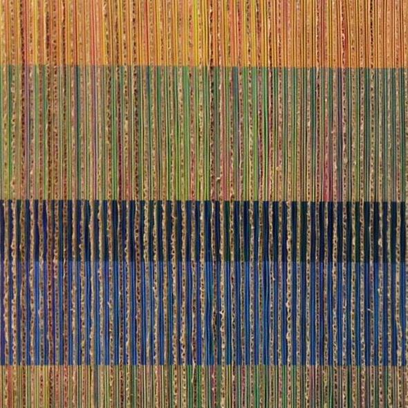 "Edward Lane McCartney, ""Chromatic Interference #2"" (detail)"
