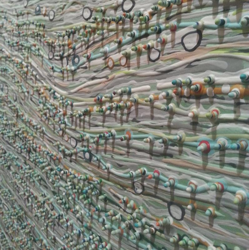 "Charlotte Smith, ""Wavelation II"" (detail)"