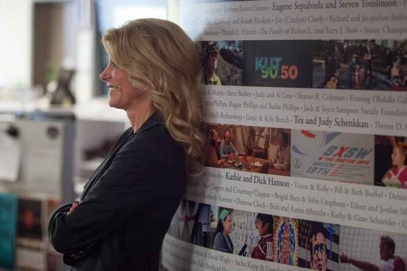 Wendy Davis visited Austin recently for a book signing.