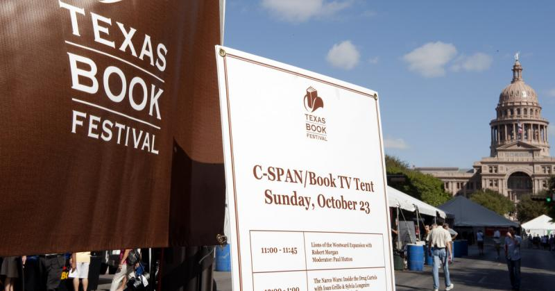 The Texas Book Festival will take place on October 25 and 26.