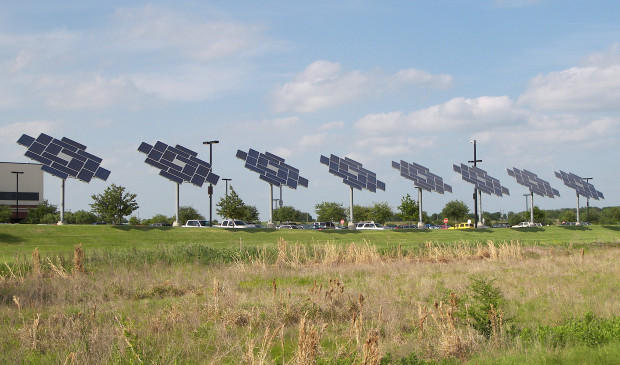 Austin Energy offered a plan to bring 500 megawatts of solar power to the utility and retire the coal-powered Fayette Power Plant in an effort to reach the city's goal of becoming carbon-neutral.