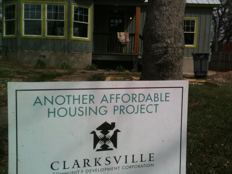 Neighbors in Clarksville lease 19 properties to low-income residents in order to expand affordability, and diversity, in the neighborhood.