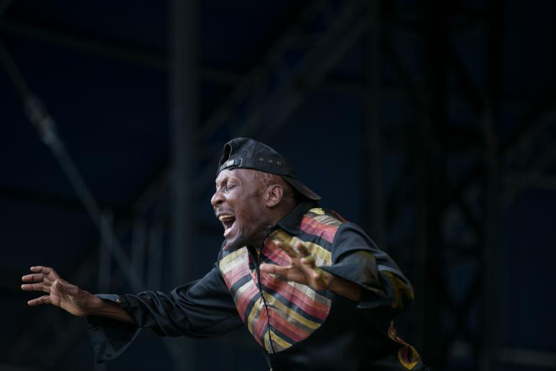 Reggae legenge  Jimmy Cliff performs at the Austin City Limits Music Festival on Friday Oct. 10.