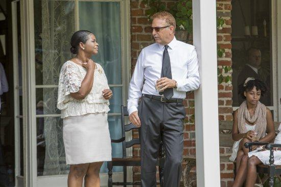 """Black and White"" stars Kevin Costner and Octavia Spencer. It shows Oct. 27 at the Austin Film Fest."