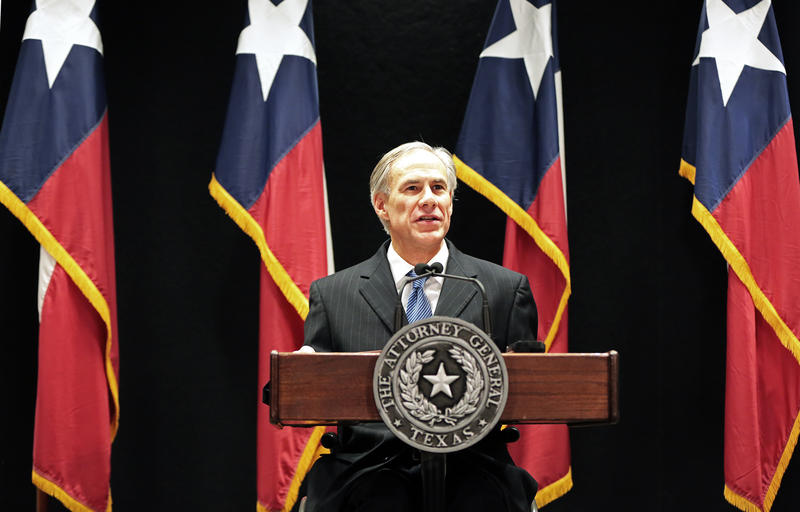 Texas Attorney General Greg Abbott, announcing a lawsuit over the Obama administration's executive order on immigration policy.