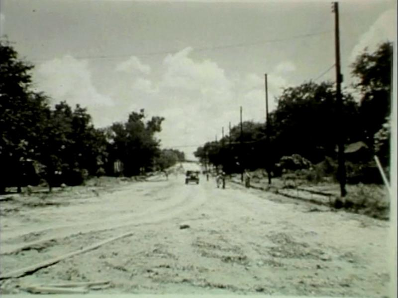 Lamar in 1941 at 24th street.