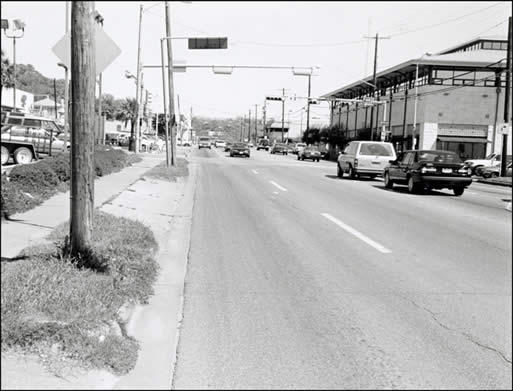 A photo near Sixth and Lamar in 1998.