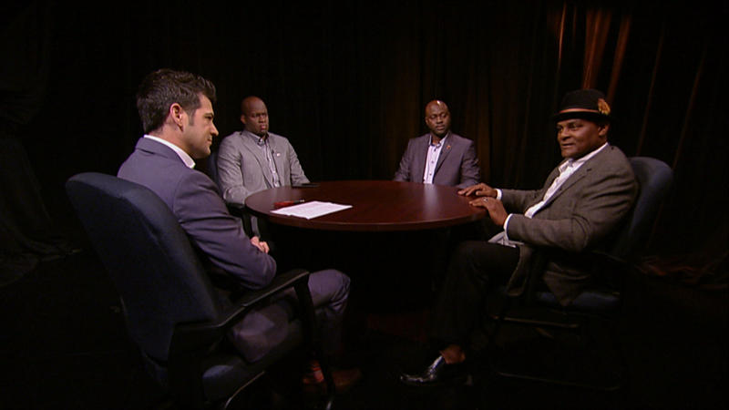 Vince Young, James Brown and Donnie Little talk to an LHN commentator about their experiences with the Texas Longhorns football team.