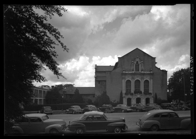 The University Baptist Church on October 29, 1946.