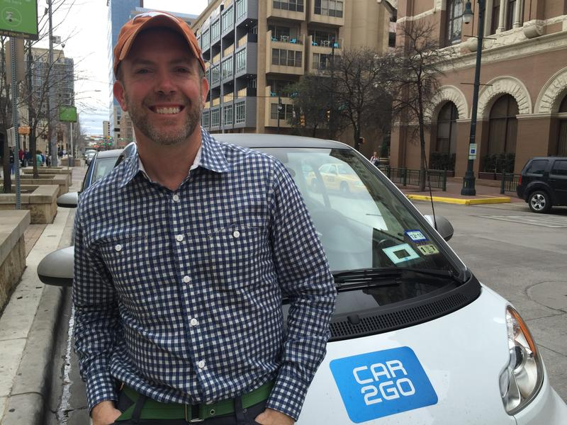 Joseph Kopser, CEO of the mobility app RideScout.