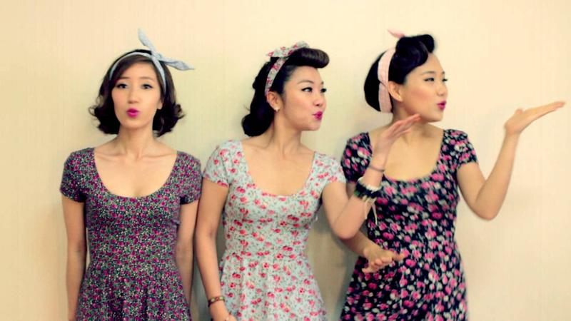The Barberettes.