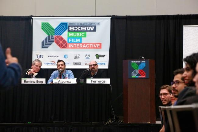 The 'Bilingual Media: Latino Entertainment in the 21st Century' took place on March 17, 2015 at the Austin Convention Center.