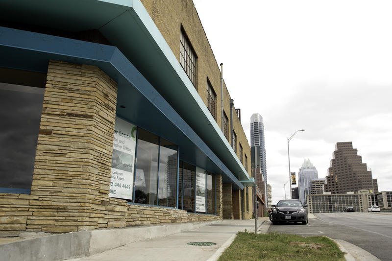 The property at 220 Congress has been empty, but is being redeveloped.