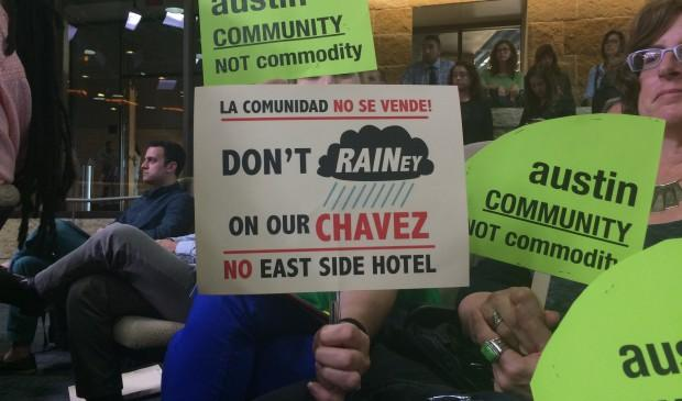 Opponents objected to the size of the boutique hotel proposed for East Cesar Chavez. But if the hotel doesn't go up there, some argue, something else inevitably will.