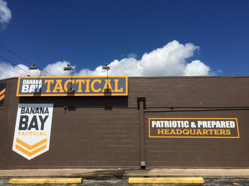 The owner of Banana Bay Tactical says they will continue to sell Confederate flag merchandise for now.