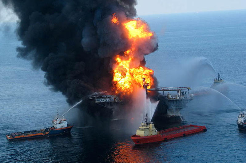 The Deepwater Horizon oil rig exploded in 2010, and today, state governments and BP announced they'd reached a settlement agreement.