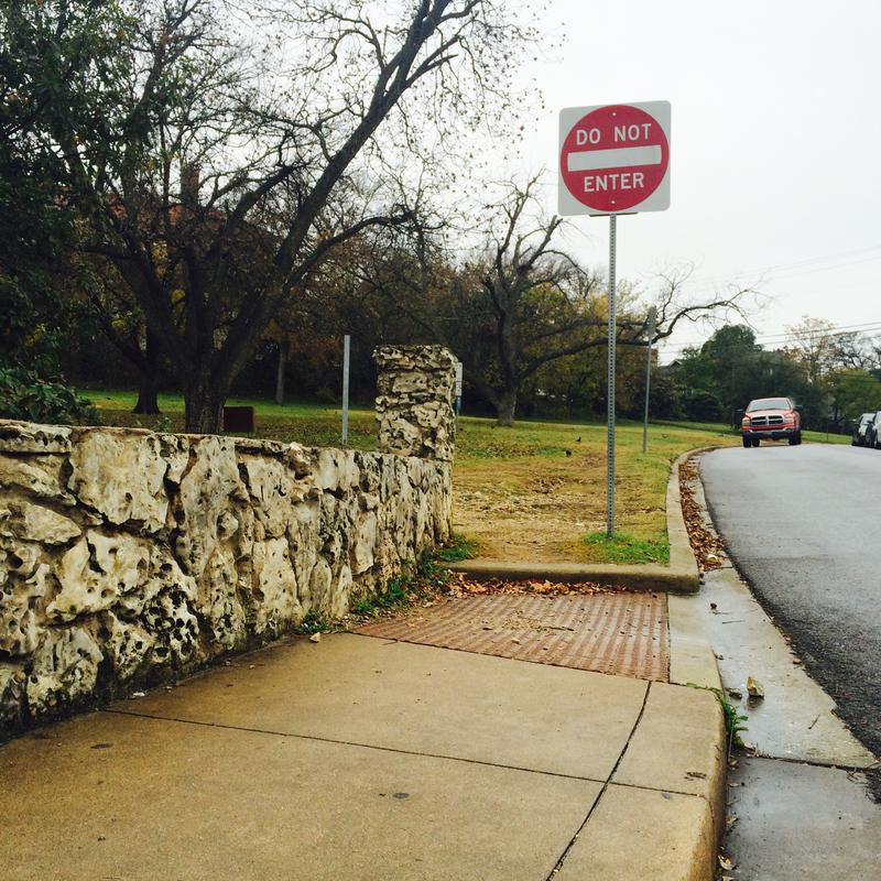 Austin is missing half of the sidewalks it's supposed to have, and many sidewalks are not compliant with the Americans with Disabilities Act.