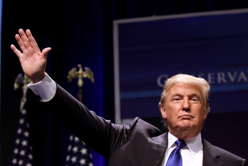 GOP presidential nominee Donald Trump will be in Austin tonight.