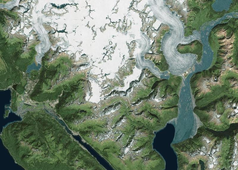 UT researchers studied Mendenhall Glacier near Juneau, along with five other glaciers in Alaska and Greenland.
