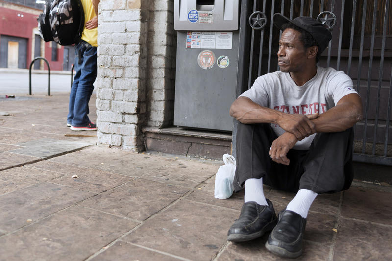 The federal Housing Dept. may consider withholding funds from cities who have laws criminalizing homelessness. Under consideration are laws like Austin's no sit/no lie ordinance, which prohibits people from sleeping on the streets.