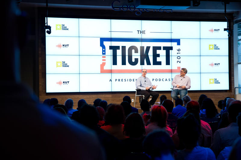The Ticket 2016 Live Show in downtown Austin.