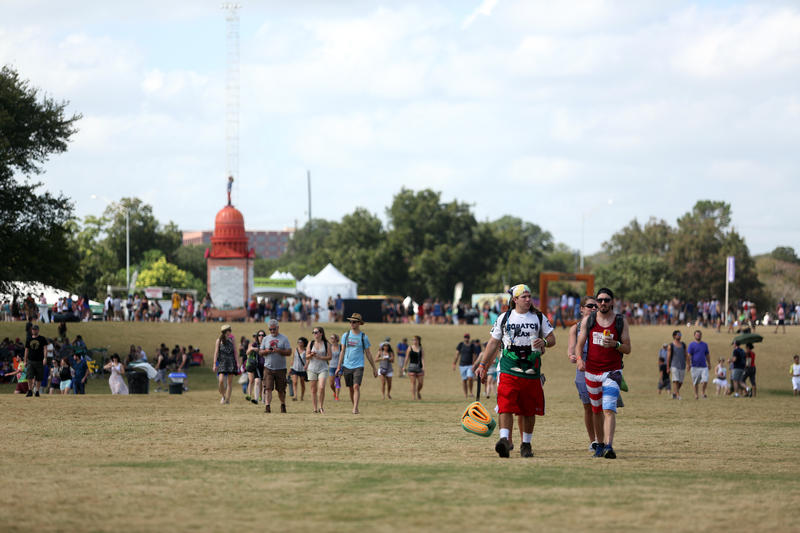At ACL, festival-goers say they regularly sneak in food and alcohol.