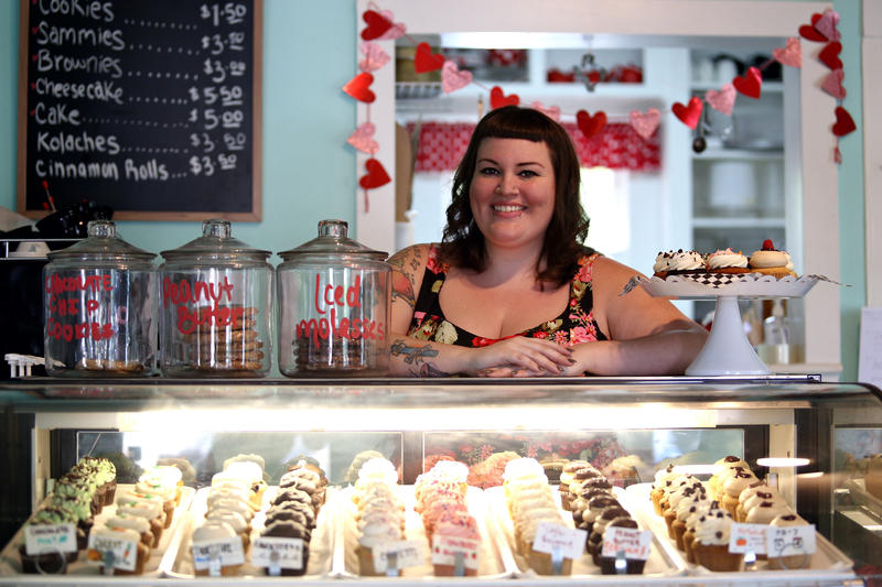Kristen Davenport opened up her Capital City Bakery in East Austin in 2013 after demand for her vegan pastries kept soaring.