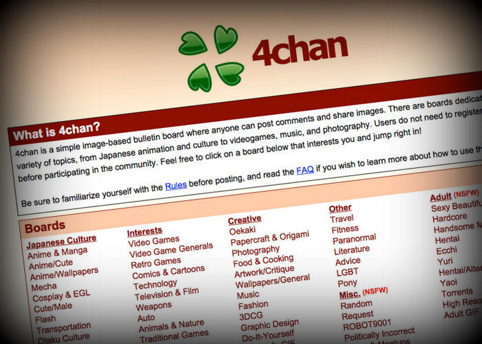 The image board site 4chan may have had hosted posts from the man responsible for the Oregon mass shooting.