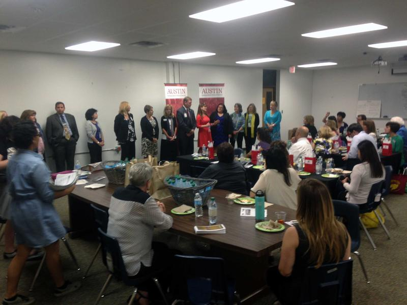 Principals from south Austin schools met with local real estate agents yesterday to improve communication and remove negative perceptions about the schools which have circulated in the past. It's the latest attempt to curb declinining enrollment in AISD.