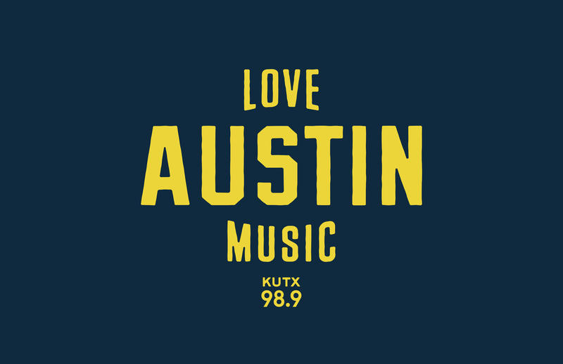 Love Austin Music KUTX T-shirt