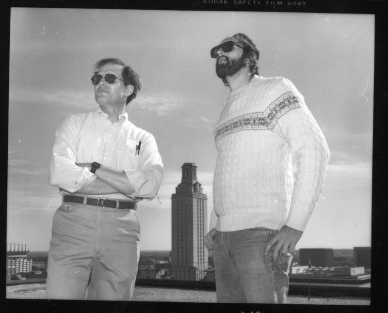 Lewis Harrison and Howard Lennett