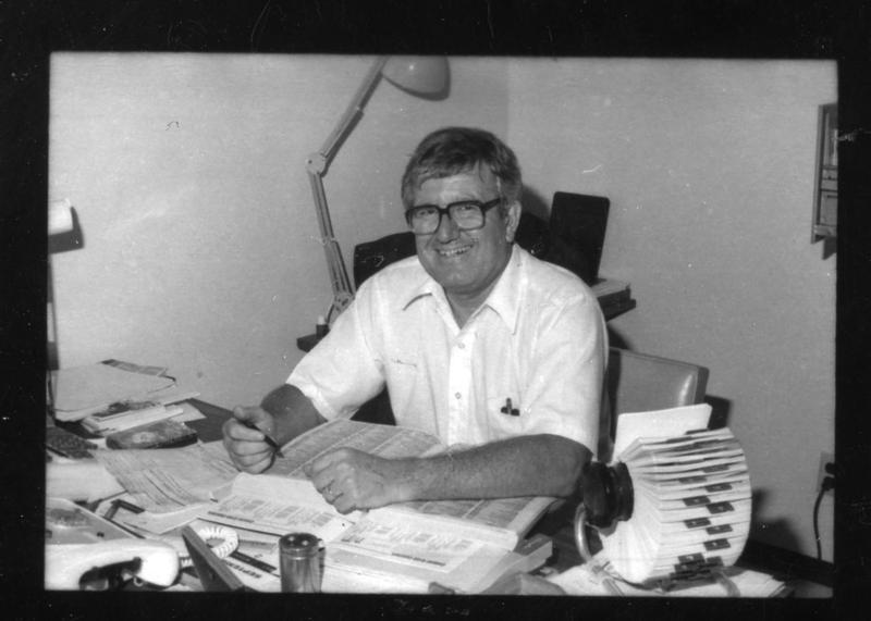KUT Engineer Roy Oatman