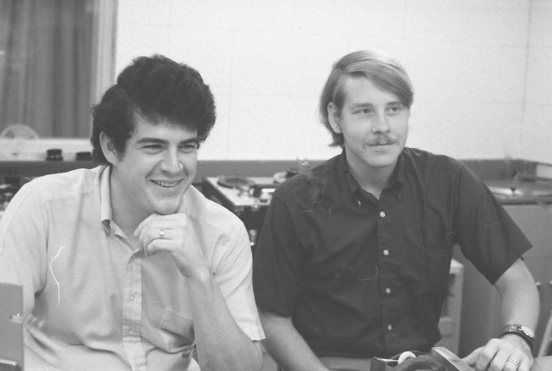 Stewart Wilbur (left) and Bill Grimes (right)