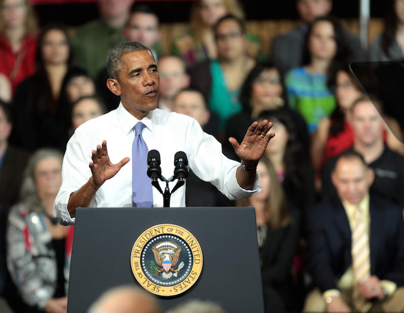 The President addressed the country on Sunday about combating potential attacks on U.S. soil.