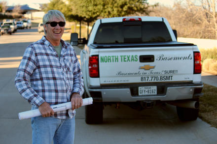 Tom Werling builds basements in the Dallas area.