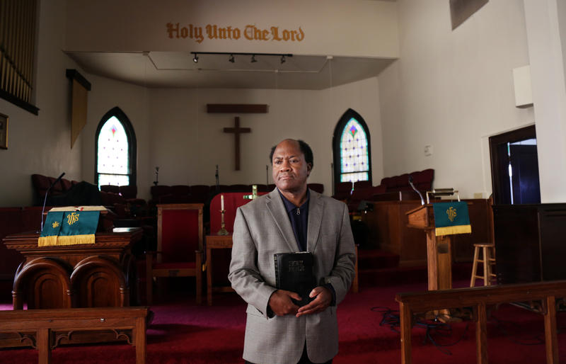 Reverend Sylvester Chase Jr. serves as Senior Pastor at Wesley United Methodist Church. He's lived in Austin 21 years.