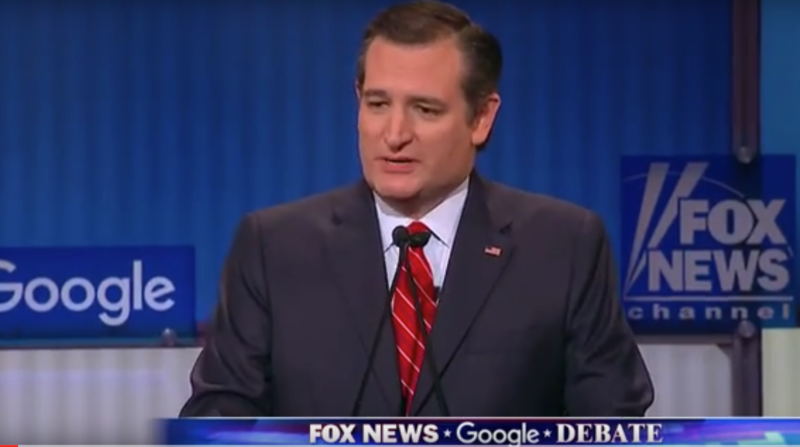 Ted Cruz faced criticism from opponents in the final GOP debate before the primaries, hosted by Fox News.