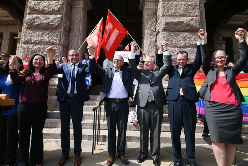 The federal court's ruling on Obergefell v. Hodges legalized same-sex marriage in 2015. But some Texas lawmakers continue to oppose the action, arguing that the ruling mandates clergy to perform ceremonies that may not align with their beliefs.