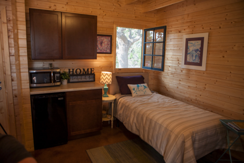 Fighting Homelessness In Austin One Tiny House At A Time