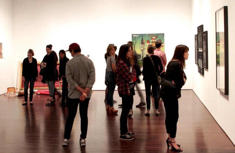 A new exhibit at the University of Texas's Blanton Museum reps the '90s with a retrospective of the art from this pivotal and dynamic decade.