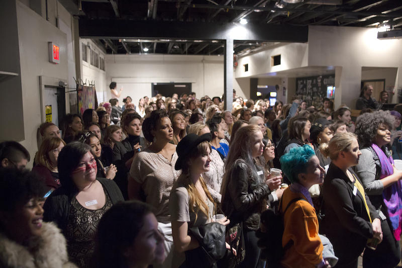 The empire Control Room in Austin was full for the Boss Babes ATX event.