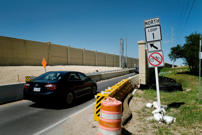 It's only a matter of time: Graffiti could dot the new walls along the MoPac Improvement Project, but who would be tasked with removing the graffiti?