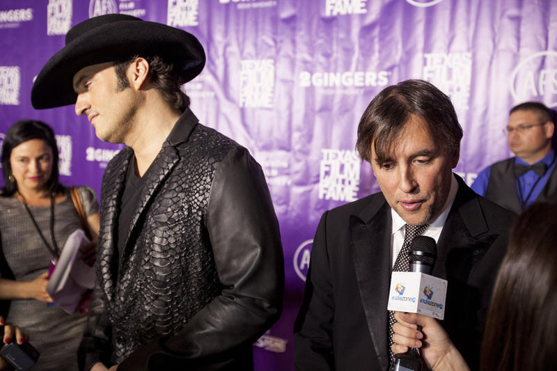 Austin filmmakers like Robert Rodriguez (left) and Richard Linklater (right) have touted the state's film incentive program in the past, but the legislature cut the program last year by nearly two-thirds.