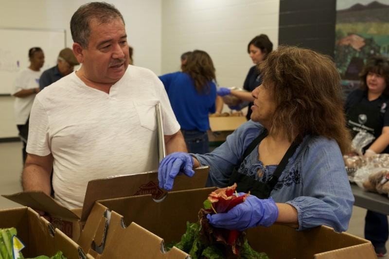 Twenty percent of Texas is a food desert, where residents don't have access to fresh and healthy food options.
