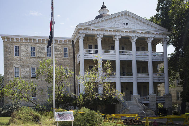 Built in 1861, the Austin State Hospital was Texas' first facility for the mentally ill.